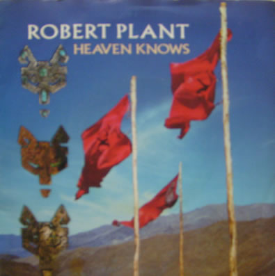 Robert Plant - Heaven Knows 7 inch vinyl