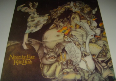 Kate Bush - Never For Ever 12 inch vinyl