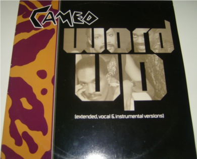 Cameo - Word Up 12 Inch Vinyl