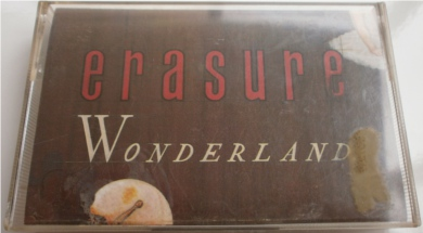 Erasure - Wonderland Cassette Tape