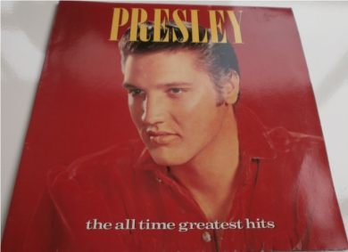 Elvis Presley - Presley The All Time Greatest Hits 12 inch vinyl