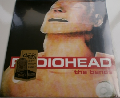Radiohead - The Bends Ltd Edition Sealed Capitol Radio 12 inch vinyl