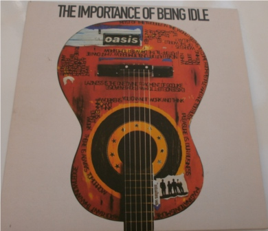 Oasis - Importance of Being Idle 7 Inch Vinyl