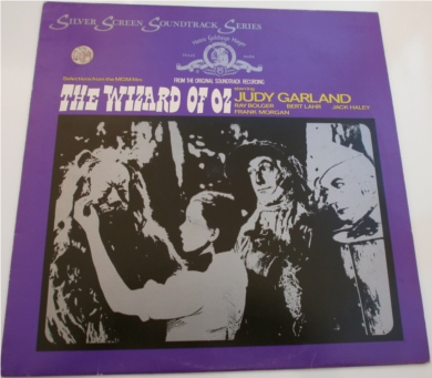 The Wizard Of OZ 1956 Silver Screen Soundtrack Series 12 Inch Vinyl