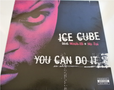 Ice Cube feat Mack 10 & Ms Toi - You Can Do It 12 inch vinyl