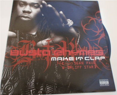 Busta Rhymes - Make It Clap 12 inch vinyl