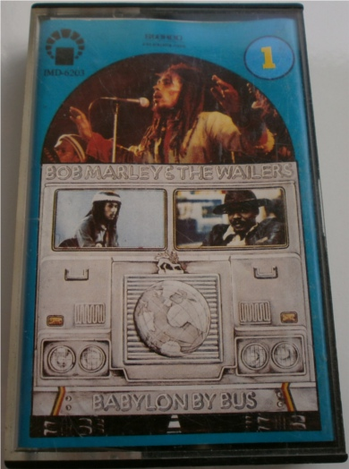 Bob Marley & The Wailers - Babylon By Bus Cassette Tape