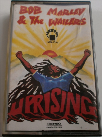 Bob Marley & The Wailers - Uprising Cassette Tape