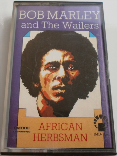 Bob Marley & The Wailers - African Herbsman Cassette Tape