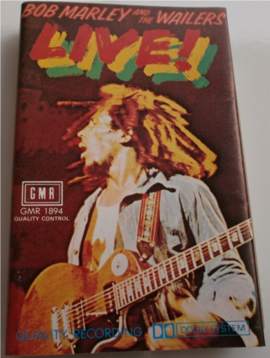 Bob Marley & The Wailers - Live! Cassette Tape