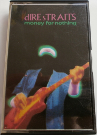 Dire Straits - Money For Nothing - Cassette Tape
