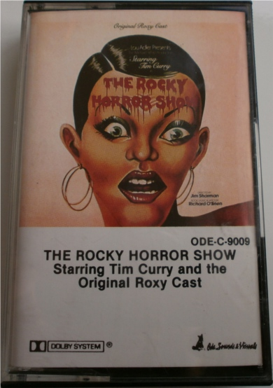 The Rocky Horror Show  - Starring Tim Curry & the original roxy cast ODEC9009 - Cassette Tape