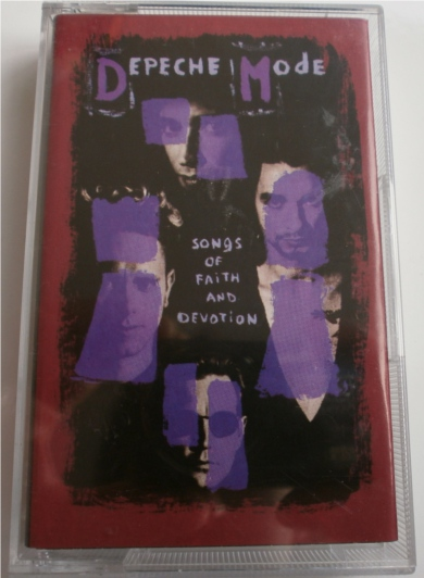 Depeche Mode - Songs Of Faith And Devotion - Cassette Tape