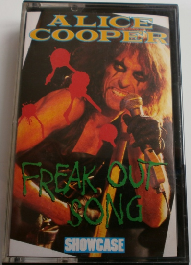 Alice Cooper - Freakout Song - Cassette Tape