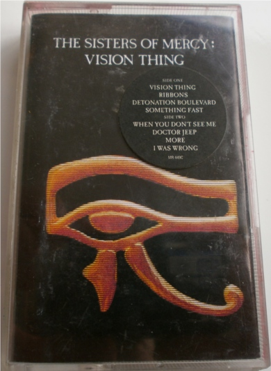 The Sisters of Mercy - Vision Thing - Cassette Tape