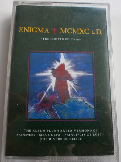 Enigma - MCMXC a.D. Ltd Edition - Cassette Tape