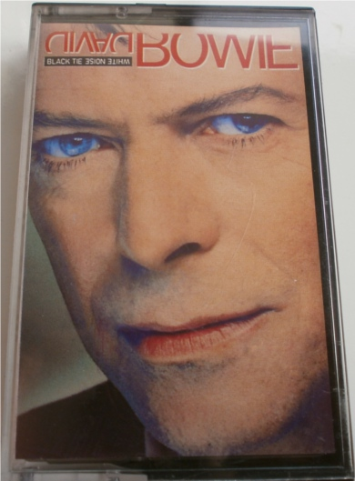 David Bowie - Black Tie White Noise - Cassette Tape