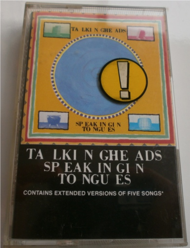 Talking Heads - Speaking In Tongues - Cassette Tape