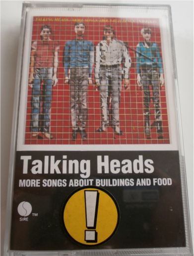 Talking Heads - More Songs About Buildings and Food - Cassette Tape