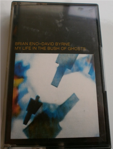 Brian Eno, David Byrne - My Life In The Bush Of Ghosts - EGMC 48 - Cassette Tape