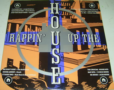Rappin Up The House (Compilation) 12 inch vinyl