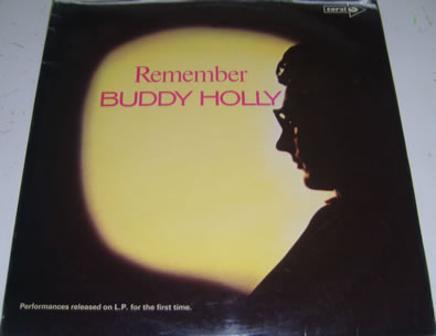 Buddy Holly - Remember 12 inch vinyl