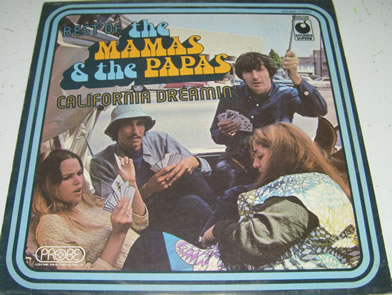 The Mamas & The Papas - California Dreaming The Best Of 12 inch vinyl