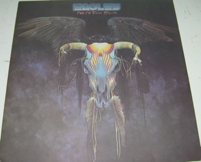 The Eagles - One Of Those Nights 12 inch vinyl