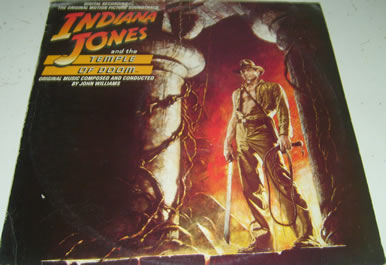 Indiana Jones And The Temple Of Doom 12 Inch Vinyl