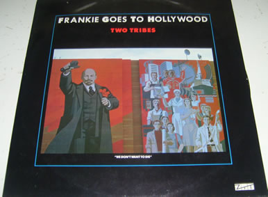Frankie Goes To Hollywood - Two Tribes 12 Inch Vinyl