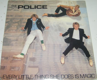 The Police - Every Little Thing She Does Is Magic 7 inch vinyl