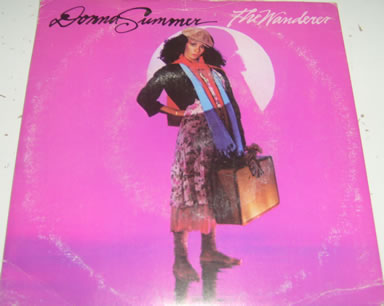 Donna Summer - The Wanderer 7 inch vinyl