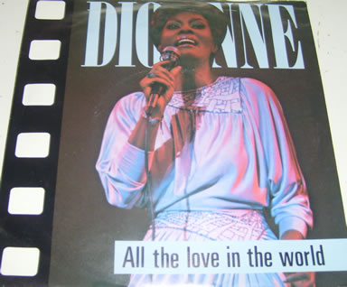 Dionne Warick - All The Love In The World 7 inch vinyl
