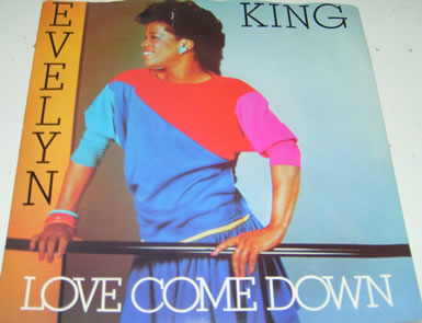 Evelyn King - Love Come Down 7 inch vinyl