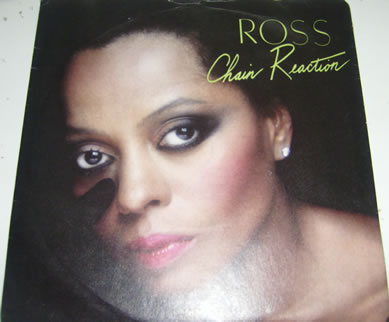 Diana Ross - Chain Reaction 7 inch vinyl