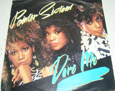 Pointer Sisters - Dare Me 7 inch vinyl