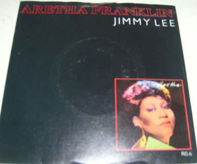 Aretha Franklin - Jimmy Lee 7 inch vinyl