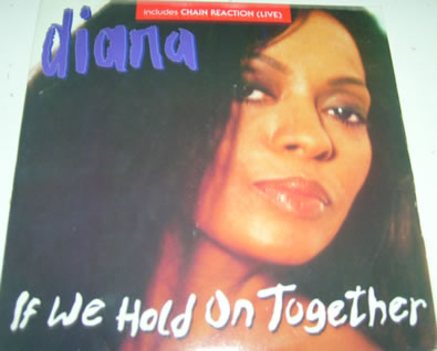 Diana Ross - If We Hold On Together 7 inch vinyl