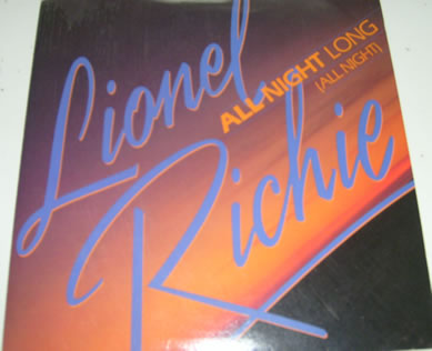 Lionel Richie - All Night Long (All Night) 7 inch vinyl