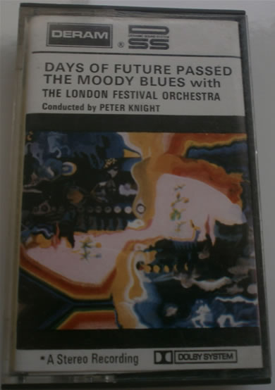 The Moody Blues - Days Of Future Passed, with the London festival orchestra - Cassette Tape