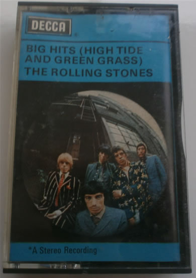 The Rolling Stones - Big Hits (High Tide and Green Grass) - Cassette Tape