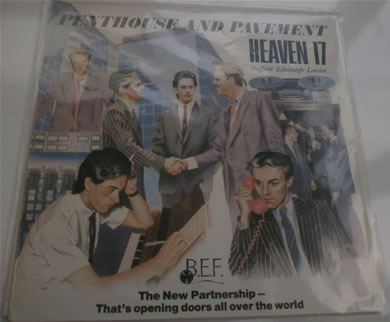 Heaven 17 - Penthouse And Pavement 12 inch vinyl