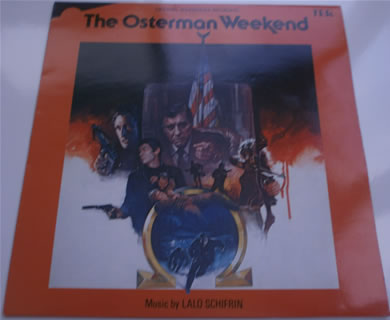 The Osterman Weekend - Music By Lalo Schifrin 1983 12 Inch Vinyl