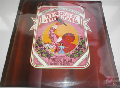 The Secret Of Santa Vittoria 1969 12 Inch Vinyl