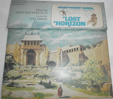 Lost Horizon - Music By Burt Bacharach 1973 12 Inch Vinyl