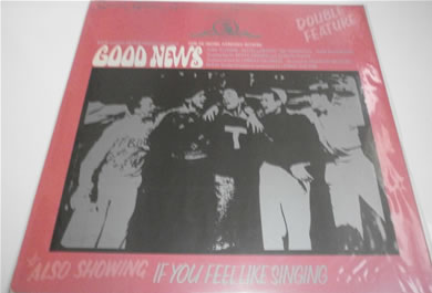 Good News/If You Feel Like Singing - Double Feature (Silver Screen Soundtrack Series) 12 Inch Vinyl