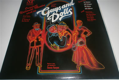 Guys And Dolls National Theatre Cast 1982 12 Inch Vinyl