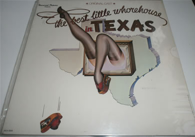The Best Little Whore House In Texas 1978 MCA Records 12 Inch Vinyl