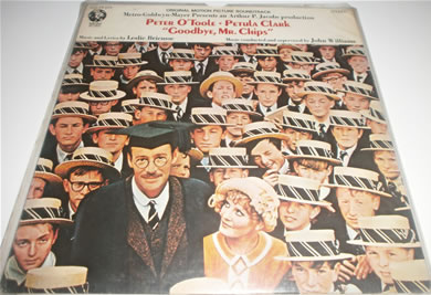 Goodbye, Mr Chips - Peter O'Toole, Petula Clark Gatefold With Book 12 Inch Vinyl