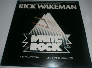 White Rock - Composed, Performed Produced By Rick Wakeman 1976 12 Inch Vinyl